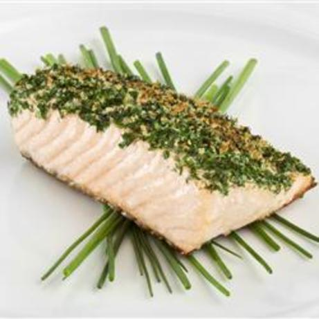 Broiled Salmon Fillets With Butter And Herbs Recipe - Food.com