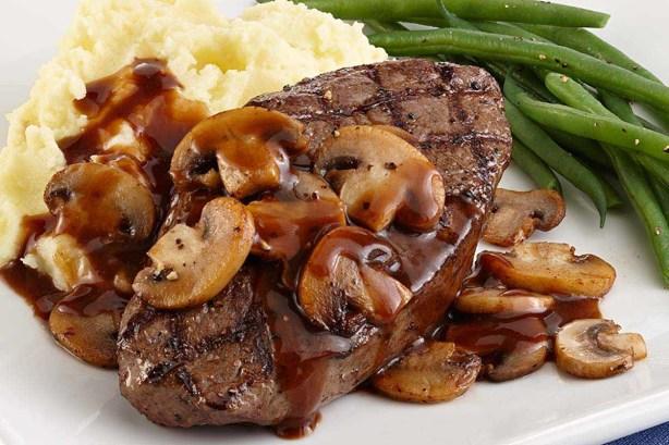 PERFECT Steak And Burgundy Mushrooms Recipe - Food.com