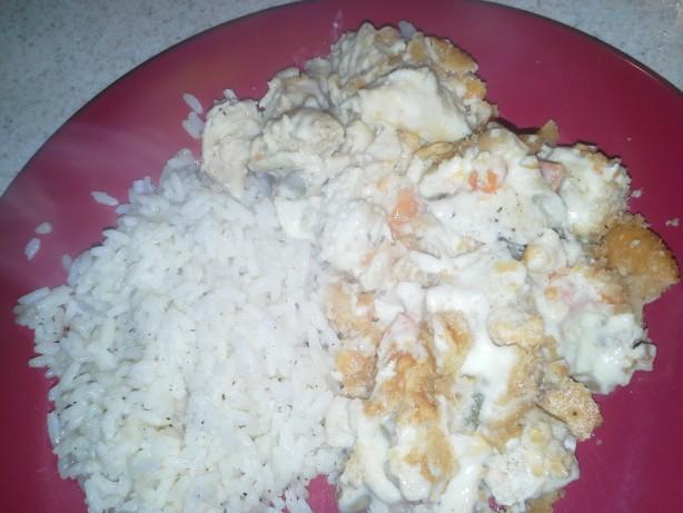 Easy Creamy Sour Cream Chicken Casserole Recipe Food Com