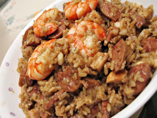 ... Chicken, Sausage And Shrimp Jambalaya Recipe - Food.com