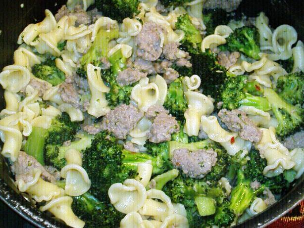 Cavatelli With Broccoli And Sausage Recipe - Food.com