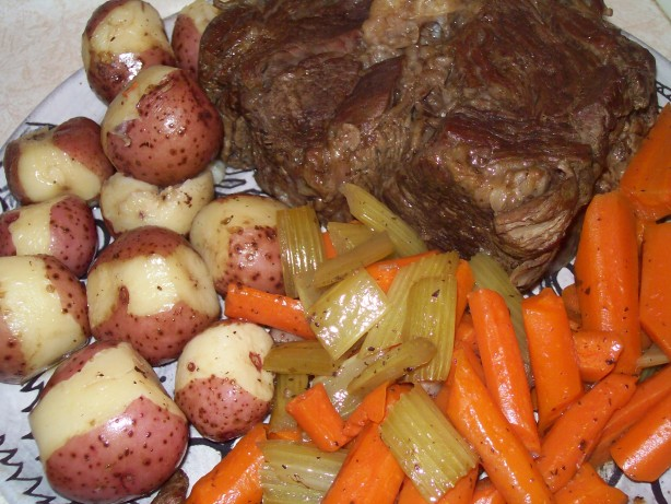 Beef Pot Roast Pot Oven Or Slow Cooker Recipe Food Com