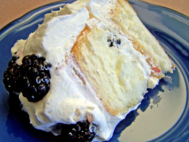 Easy Blackberry, Lime Filled Angel Food Cake Recipe - Food.com