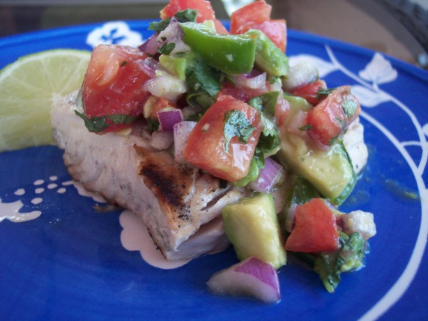 Grilled Mahi Mahi With Avocado Salsa Recipe - Food.com