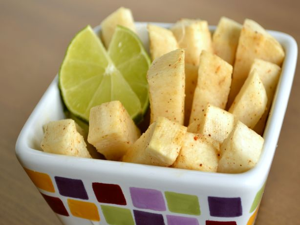 Chili Lime Jicama Sticks Recipe — Dishmaps