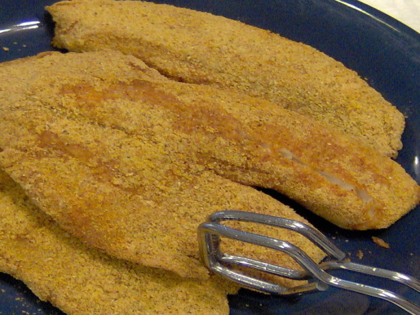 Fried Cornmeal-Crusted Catfish Recipe - Food.com
