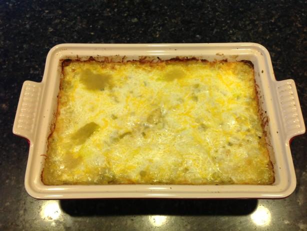 Mexican Style Green Chile Chicken Casserole Recipe Food Com