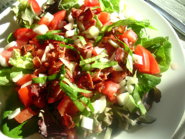 Tomato And Bacon Salad In Bibb Lettuce Cups Recipe - Food.com