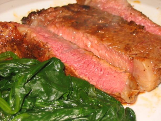 Pan-Seared Rib Eye Steak With Smoked Paprika Rub Recipe - Food.com