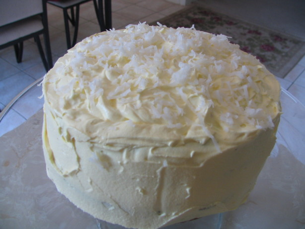 Coconut Layer Cake W Cream Cheese Coconut Frosting Recipe - Food.com