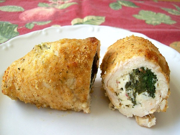 Quinoa, Feta, And Spinach-Stuffed Chicken Breasts Recipe — Dishmaps