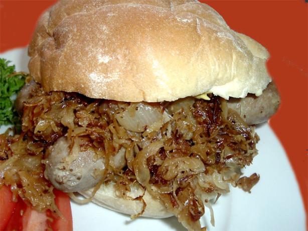 Brats And Sauerkraut Recipe Food Com