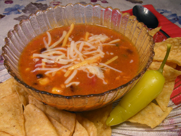 Chicken Enchilada Soup Recipe - Food.com