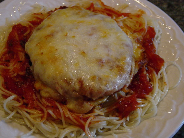 Quick And Easy Chicken Parmesan Recipe - Food.com