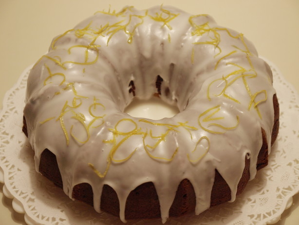 Blueberry Lemon Bundt Cake With Lemon Glaze Recipe - Food.com