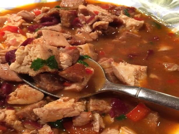 Southwestern Spiced Chicken And Black Bean Stew Recipe - Food.com
