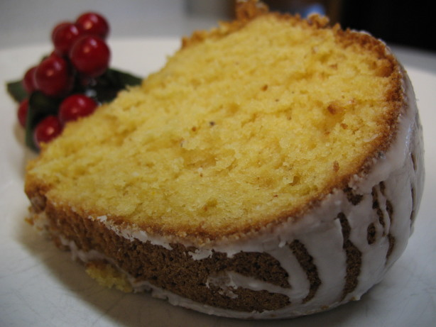 Sherry Pecan Bundt Cake