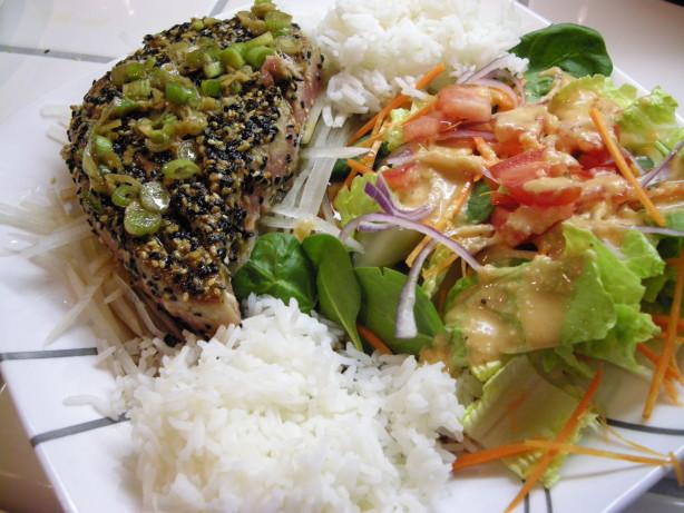 Teddys Mommys Pan Seared Ahi Tuna With Wasabi Sauce Recipe - Food.com