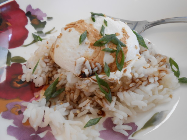 poached eggs on asiatic bed yum i ve never served poached eggs ...
