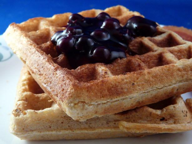 Cornmeal Sourdough Waffles Recipe - Food.com