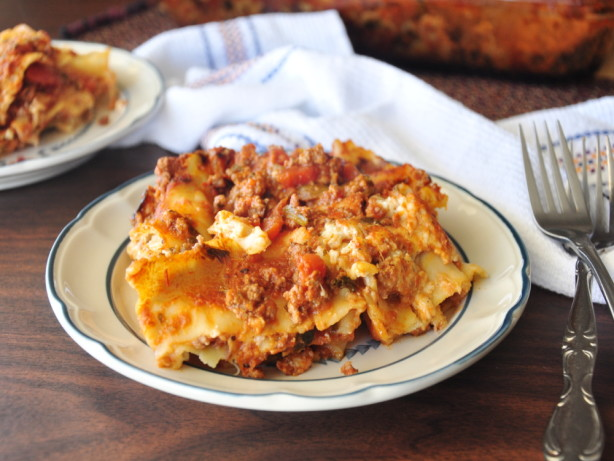 World's Best Lasagna Recipe — Dishmaps