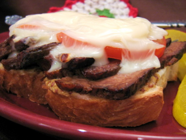 Open-Faced Roast Beef Sandwich Recipe - Food.com