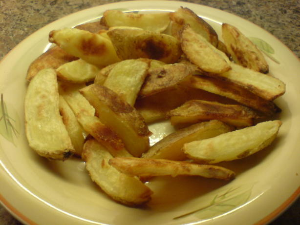 how to make baked potato wedges in oven