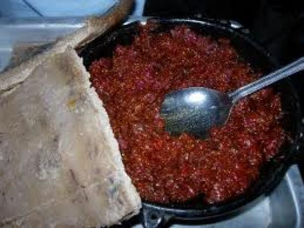 Ethiopian Beef Steak Tartar Kitfo Recipe Food Com
