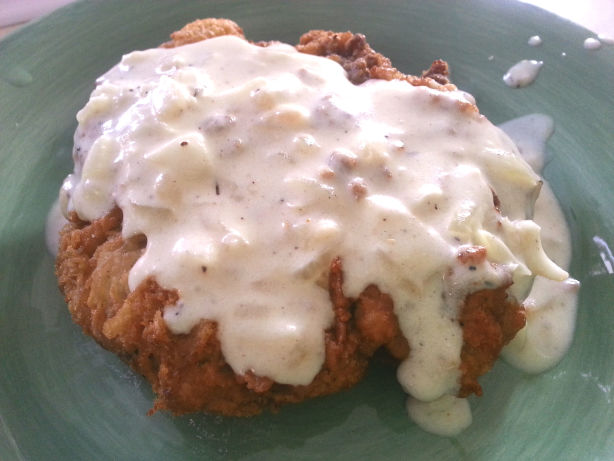 All American Chicken Fried Steak With Cream Gravy Recipe - Food.com