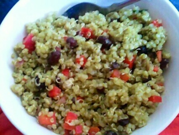 Black Bean And Quinoa Salad With Cilantro Lime Vinaigrette Recipe ...