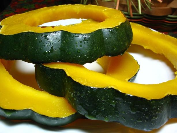 Glazed Squash Rings Recipe Food Com