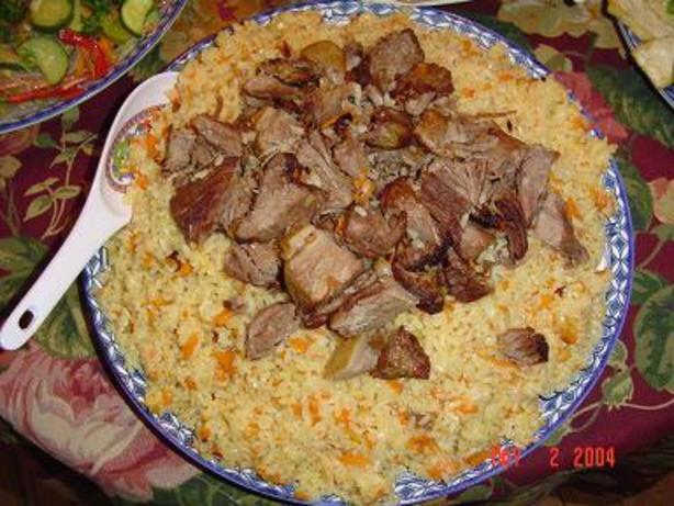 Уйгурский плов рецепт
