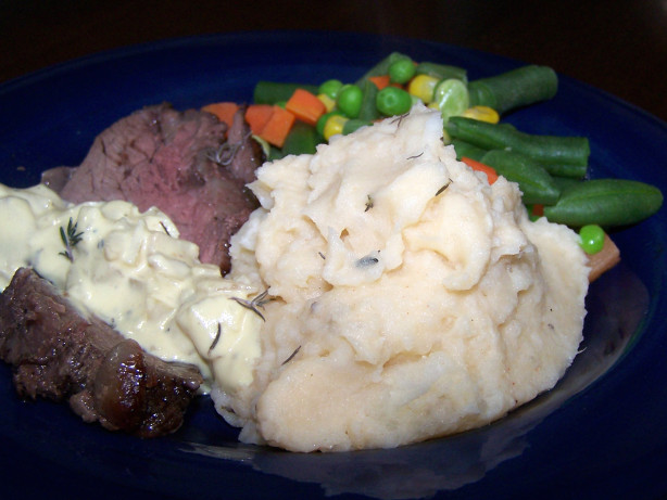 Roasted Garlic Mashed Potatoes Recipe - Food.com