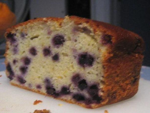 Weight Watchers Recipes Lemon Drizzle Cake: Blueberry Yogurt Cake With Lemon Glaze Recipe