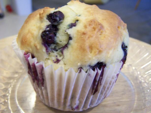 Blueberry Sour Cream Muffins Recipe - Food.com
