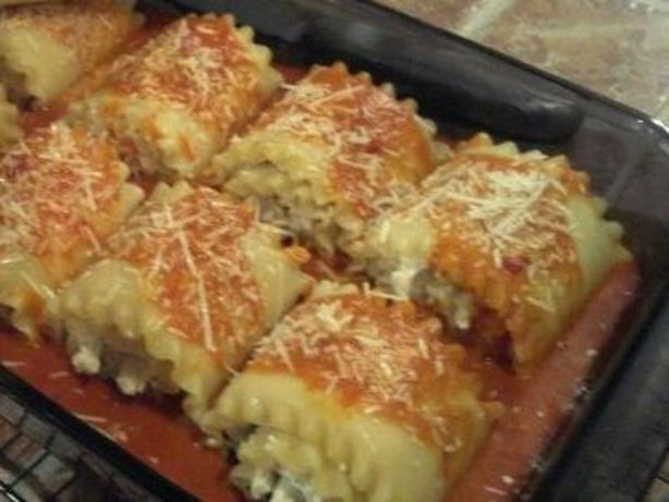 Chicken And Cheese Lasagna Roll-Ups Recipe - Food.com