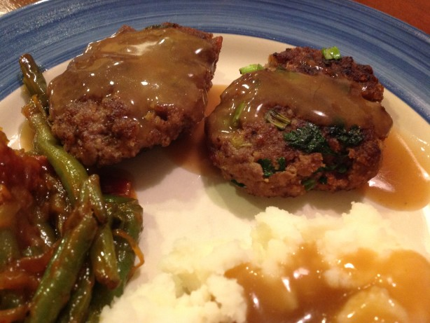 Beef And Bacon Rissoles With Gravy Recipe - Food.com