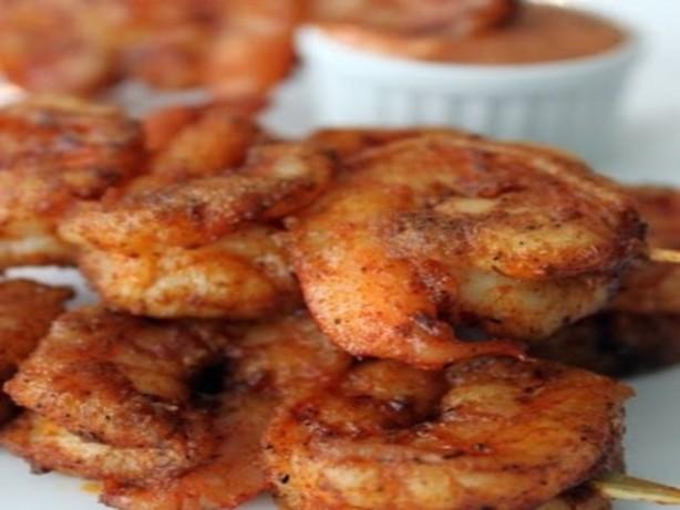 Spicy Louisiana Cajun Shrimp With Chipotle Mayonnaise ...
