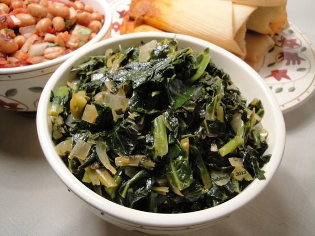 Tasty Frozen Collard Greens Recipe Food Com