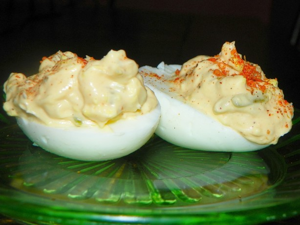 Creamy Cajun Deviled Eggs Recipe - Food.com