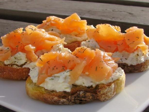 Super Simple Smoked Salmon Crostini Recipe - Food.com