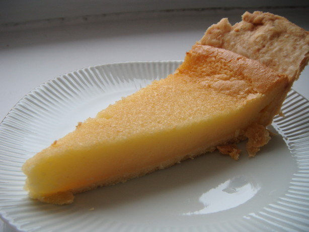 Buttermilk Pie Recipe - Food.com