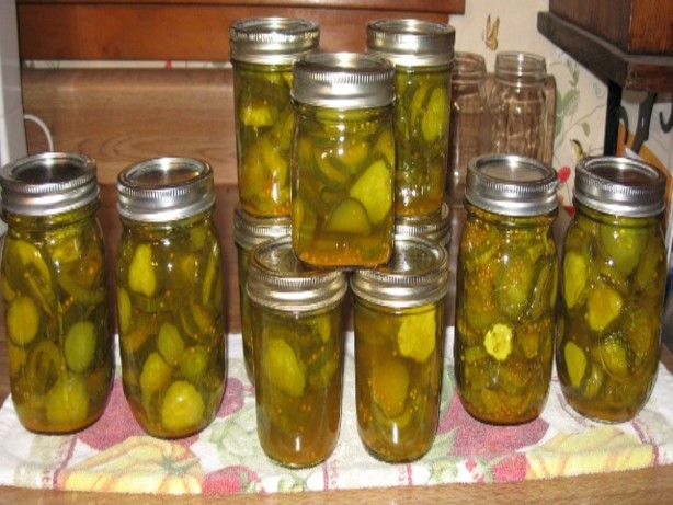 Crisp Bread And Butter Pickles Recipe Food Com