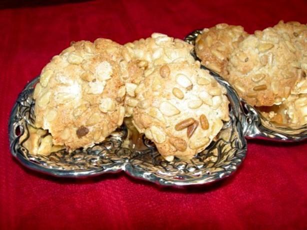 Pignoli Amaretti Pine Nut Cookies Recipe Food Com