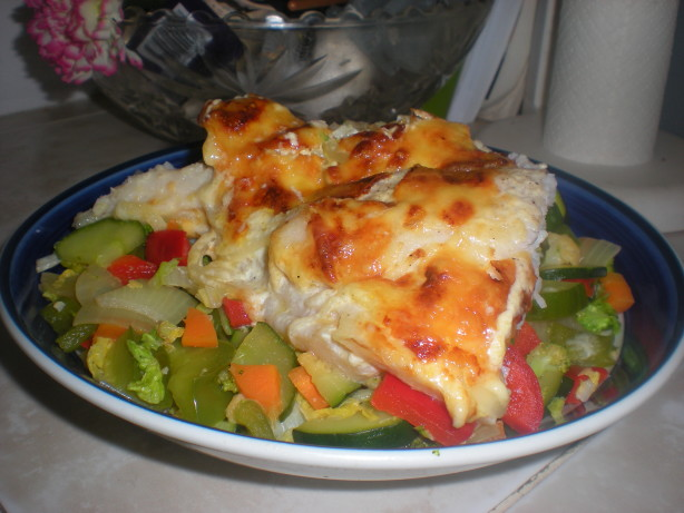 Cheesy Baked Fillet Of Fish Casserole Recipe