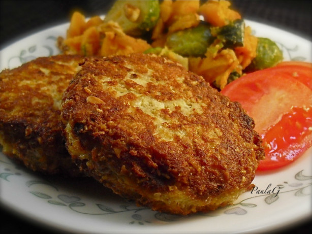 Oatmeal Salmon Patties Recipe Food Com