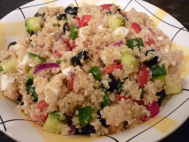 Quinoa Greek Salad Recipe - Food.com