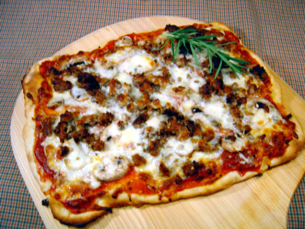 Sourdough Pizza Crust Recipe - Food.com
