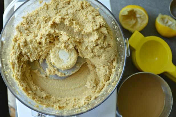 how to make hummus thicker