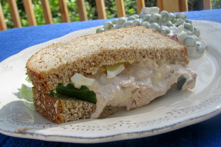 My Mom's Tuna Fish Sandwich